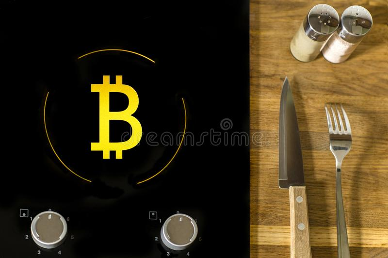 Bitcoin and food